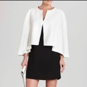 BCBG Cape Effect Dress